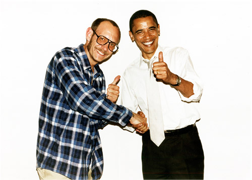 Terry Richardson meets Barack Obama